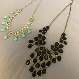 Set of Two Statement Necklaces